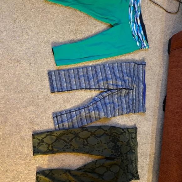 Lulu yoga pants and tanks, 2 yoga tanks